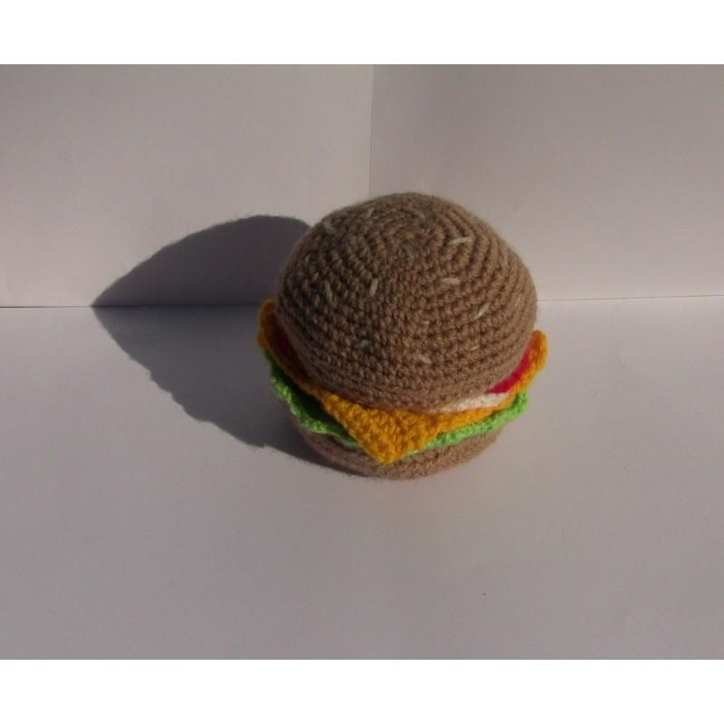 Amigurumi Hamburger Amigurumi uncinetto