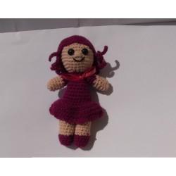 Bambola Viola uncinetto
