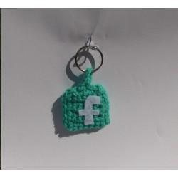 Portachiavi Facebook
