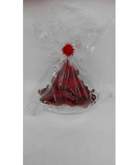 Albero Natale Rosso Uncinetto