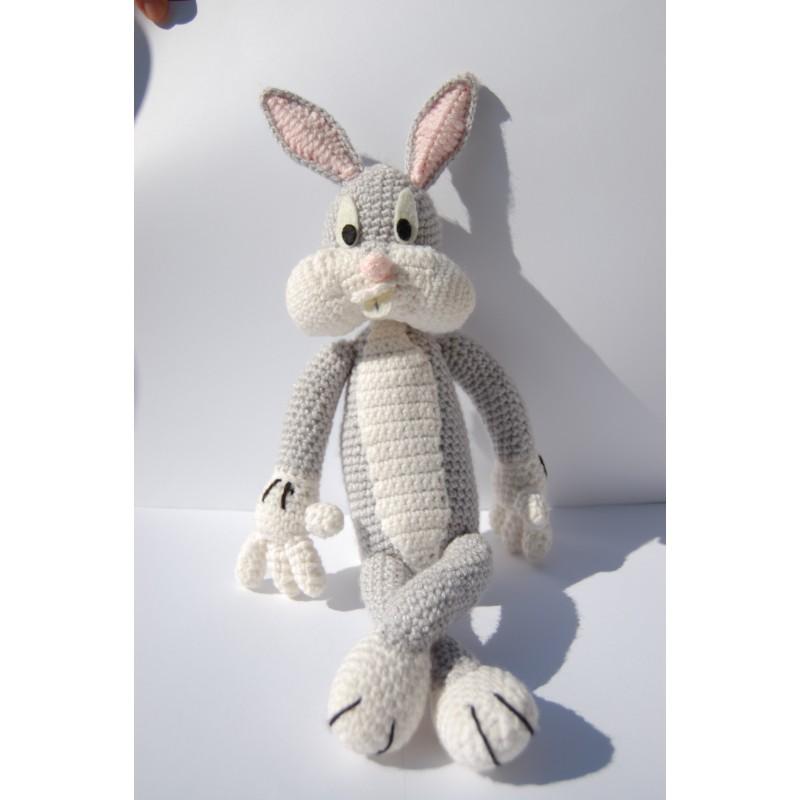 Bugs Bunny amigurumi uncinetto