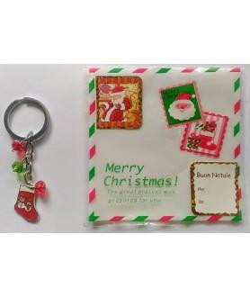 Portachiave Calza Natale