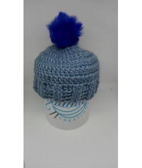 Cappello bambina azzurro...