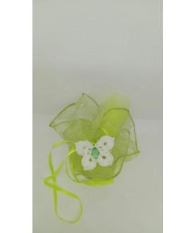 Farfalla bianca bomboniera...