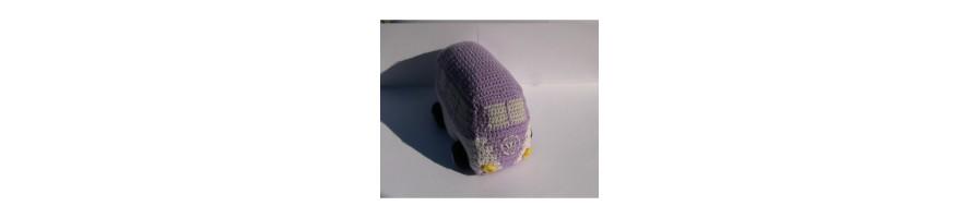 Amigurumi Automobili - Amigurumi all'uncinetto personalizzati - Aquamarine